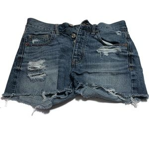 American Eagle Distressed Shorts Size 00.